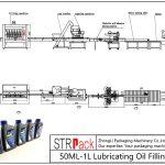 Automatische 50ML-1L vullijn voor smeerolie
