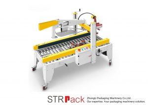 Automatische kleefbandkleppen Vouwdoos Kartonnen doos Sealer Machine