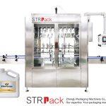 Automatische zwaartekrachttype vloeistofvulmachine