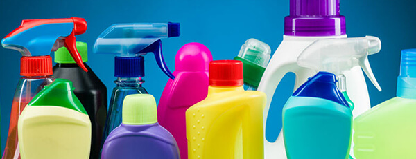 Huishoudelijke reinigingsproducten vulmachines