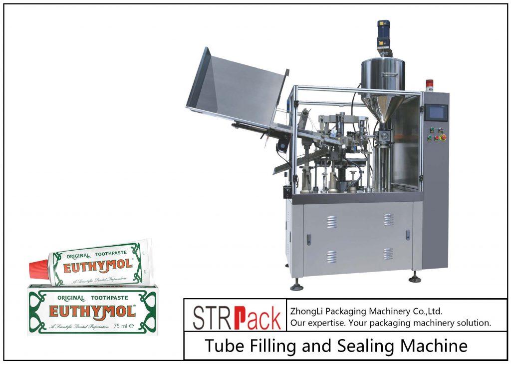 SFS-60Z vul- en sluitmachine voor metalen buizen