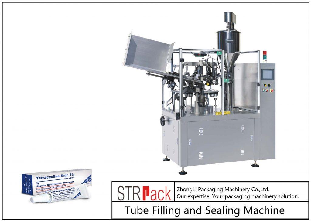 SFS-80Z vul- en sluitmachine voor metalen buizen
