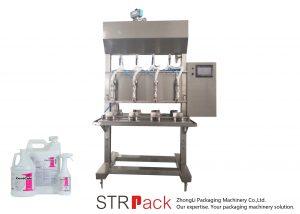 Semi-automatische tijdzwaartekracht vloeistof vulmachine